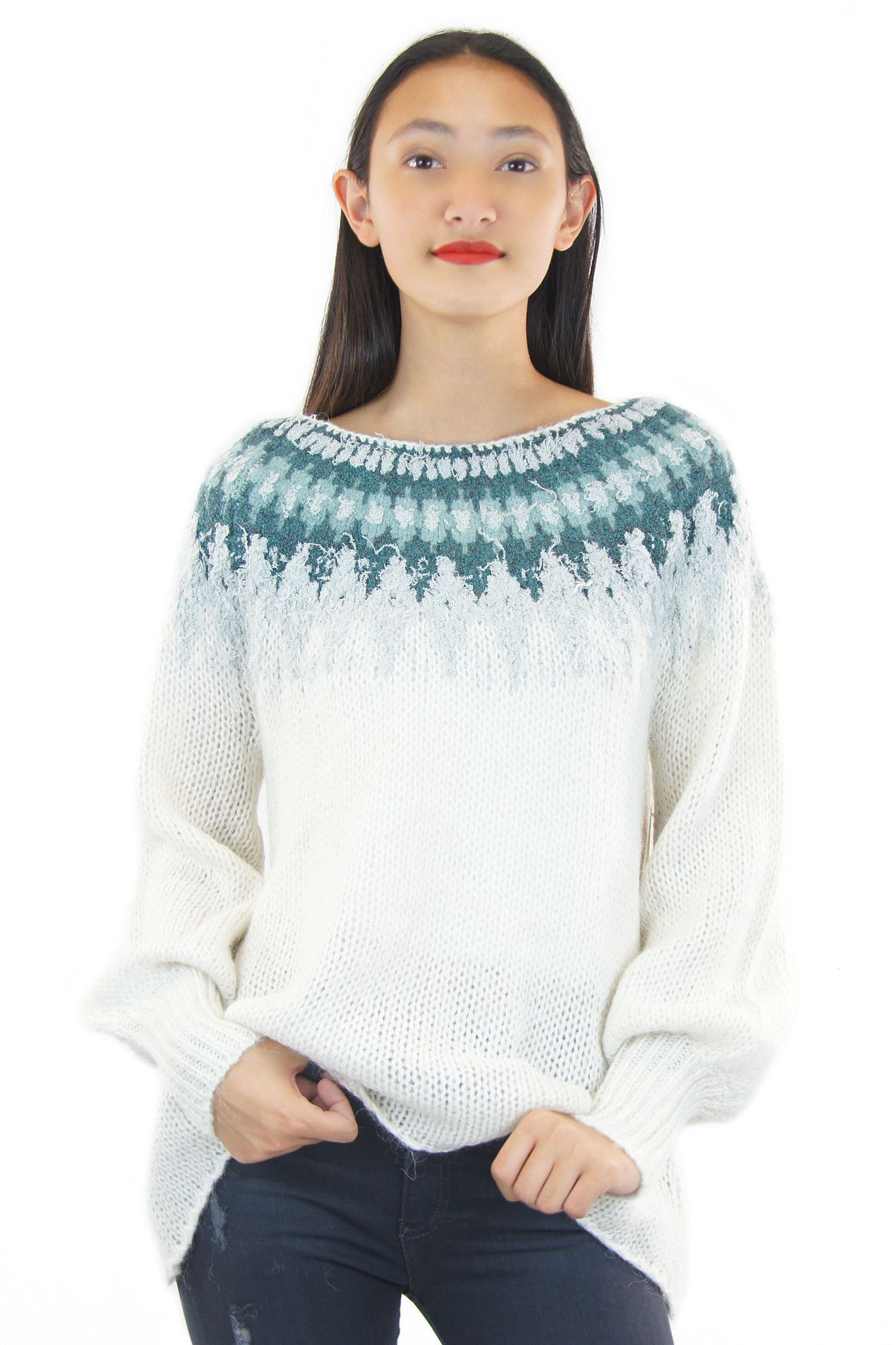 free people | baltic fairisle sweater | Fall 2015 | Pinterest ...