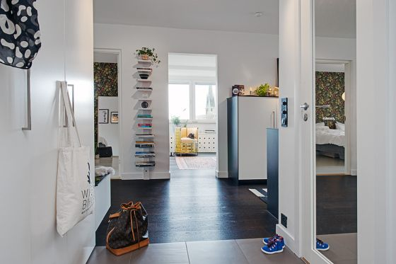 Un piso en el que cada centímetro cuadrado es útil