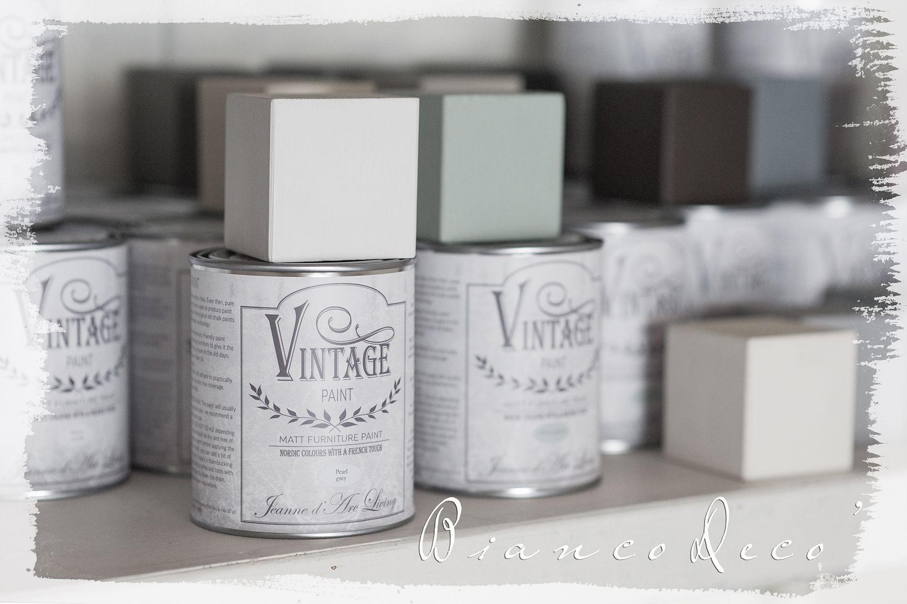 Colori mobili ~ I colori vintage paint per decorare i tuoi mobili biancodeco