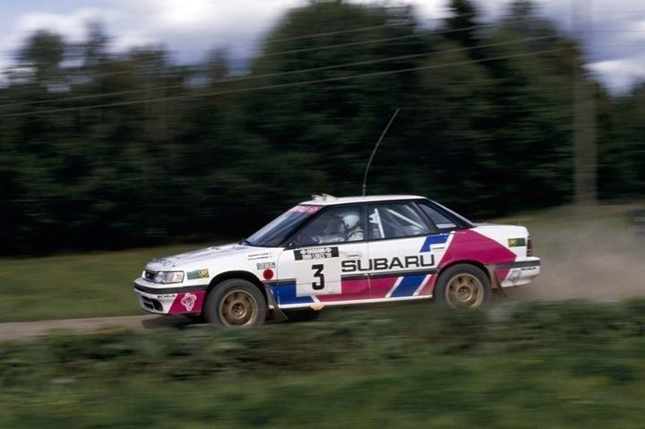 Markku Alen Started The Subarus Glory In Wrc With Legacy 1990 1991 Subaru Rally Subaru Legacy Subaru Wrc