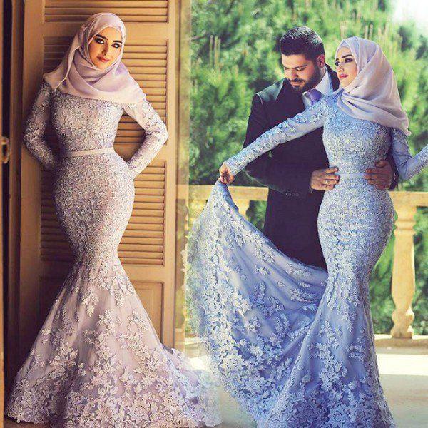 Most Elegant Wedding Abayas 2016 Style Pk