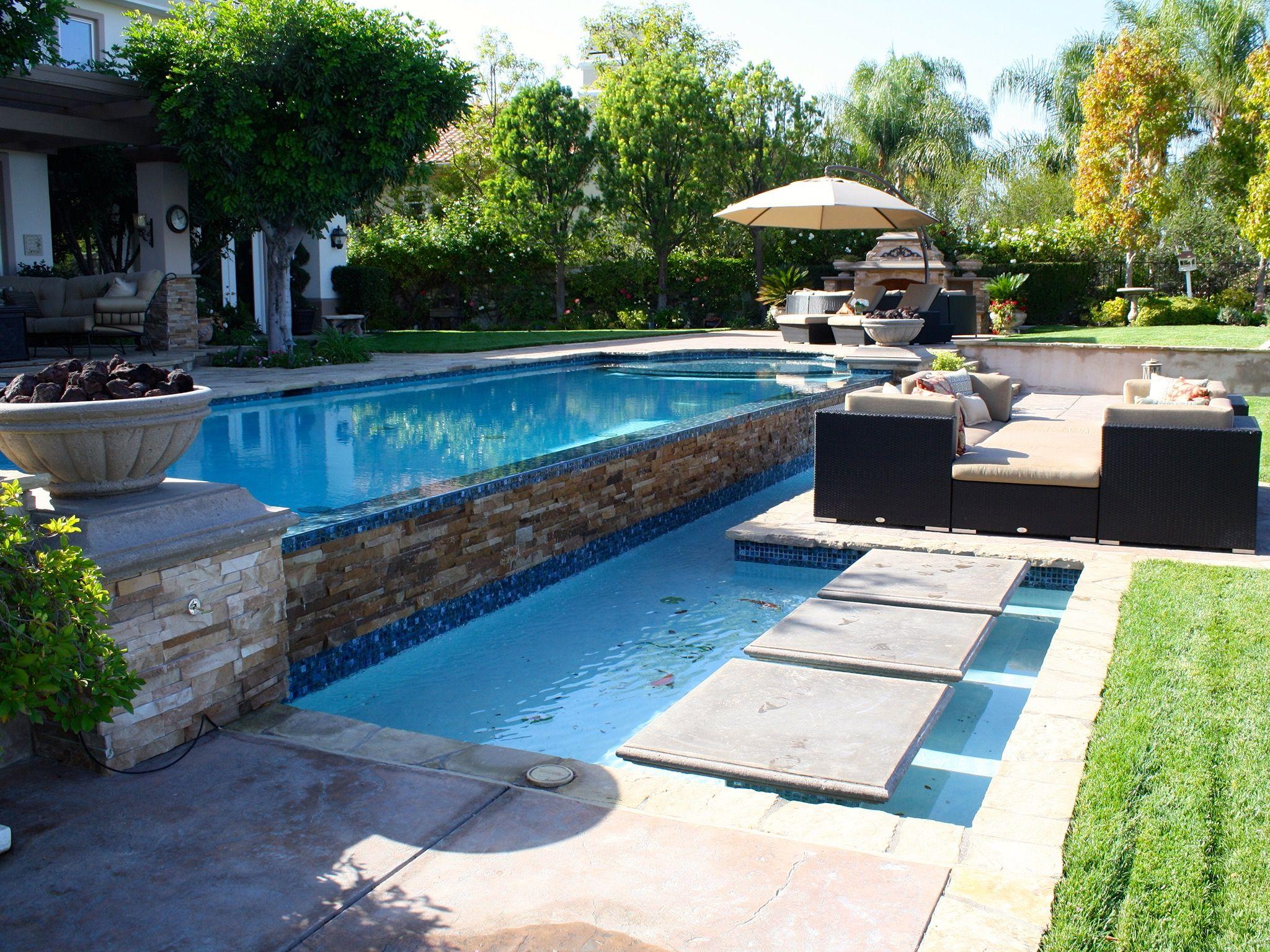 20 Luxurious Backyard Infinity Pool Designs Luxurious Backyard