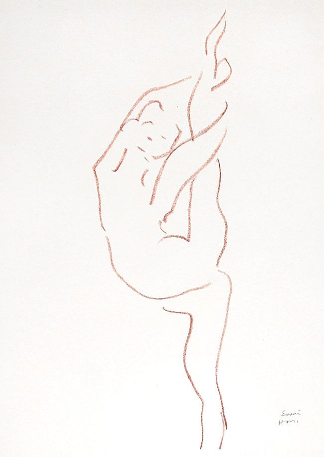 Danseuse acrobate | From a unique collection of portrait prints at https://www.1stdibs.com/art/prints-works-on-paper/portrait-prints-works-on-paper/