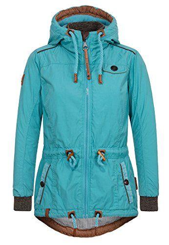 Naketano Female Jacket Schlaubär Turquoise, M | Leichte