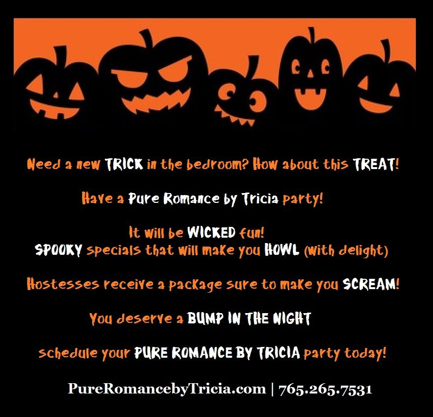 Halloween themed Pure Romance by Tricia party   Things to do ...