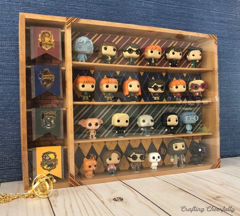 DIY Harry Potter Funko Pocket Pop Display Case Harry