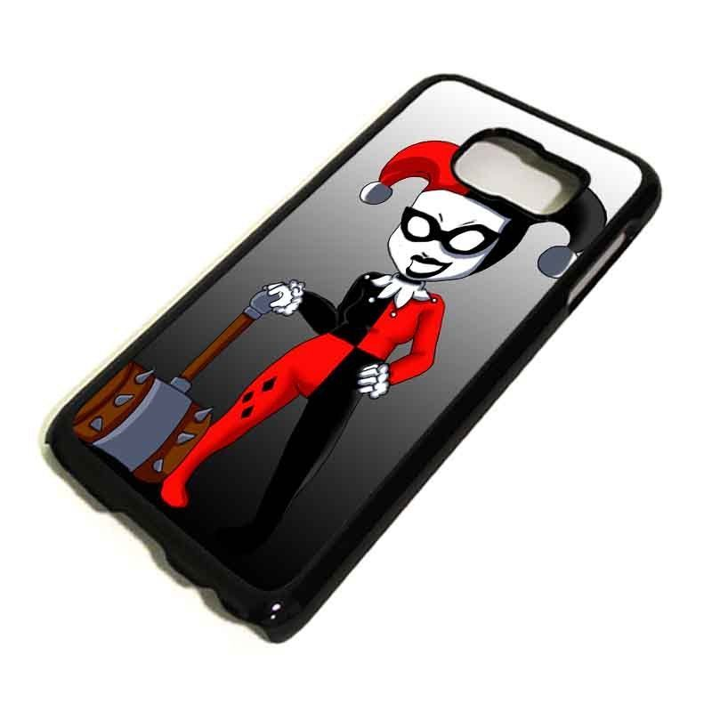 HARLEY QUINN Samsung Galaxy S3 S4 S5 S6 Edge Case Phone Cover Plastic #1 in Cell Phones & Accessories, Cell Phone Accessories, Cases, Covers & Skins | eBay