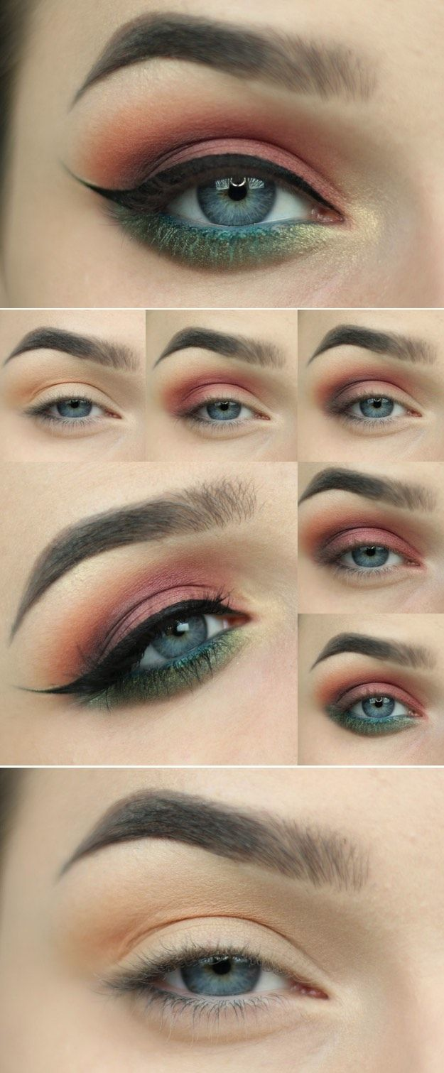 34 Makeup Tutorials For Small Eyes The Goddess - 625×1511