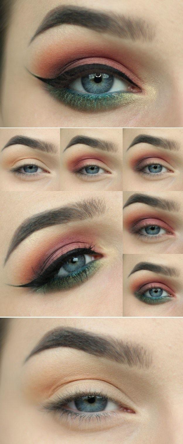 33 best makeup tutorials for blue eyes | eyes | pinterest | fair