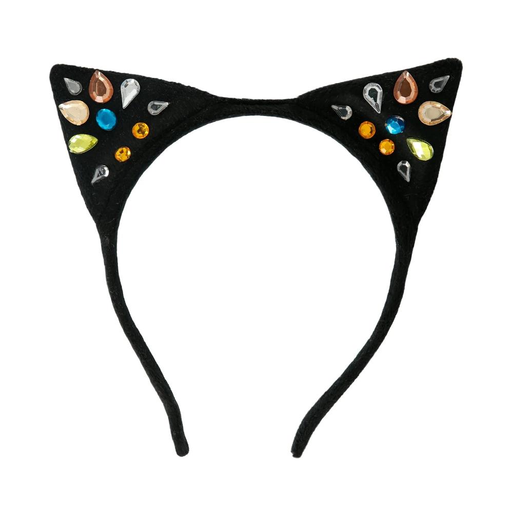 Sparkle Cat Ear Headband Ear Headbands Cat Ear Headband Fancy Dress For Kids