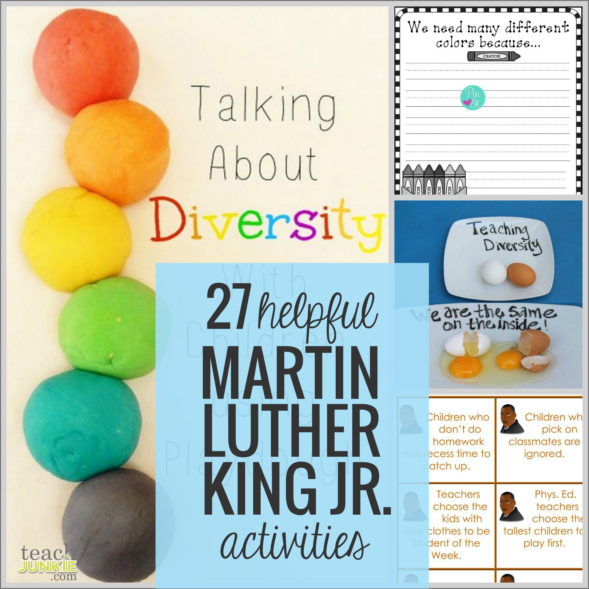 27 Helpful Martin Luther King Jr Activities