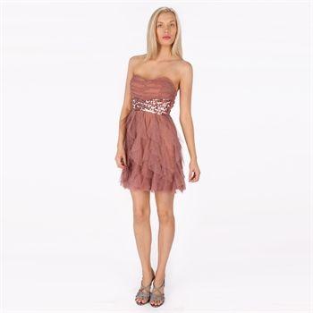 0b83c40bd47 Teeze Me Juniors Glitter Mesh Corkscrew Dress