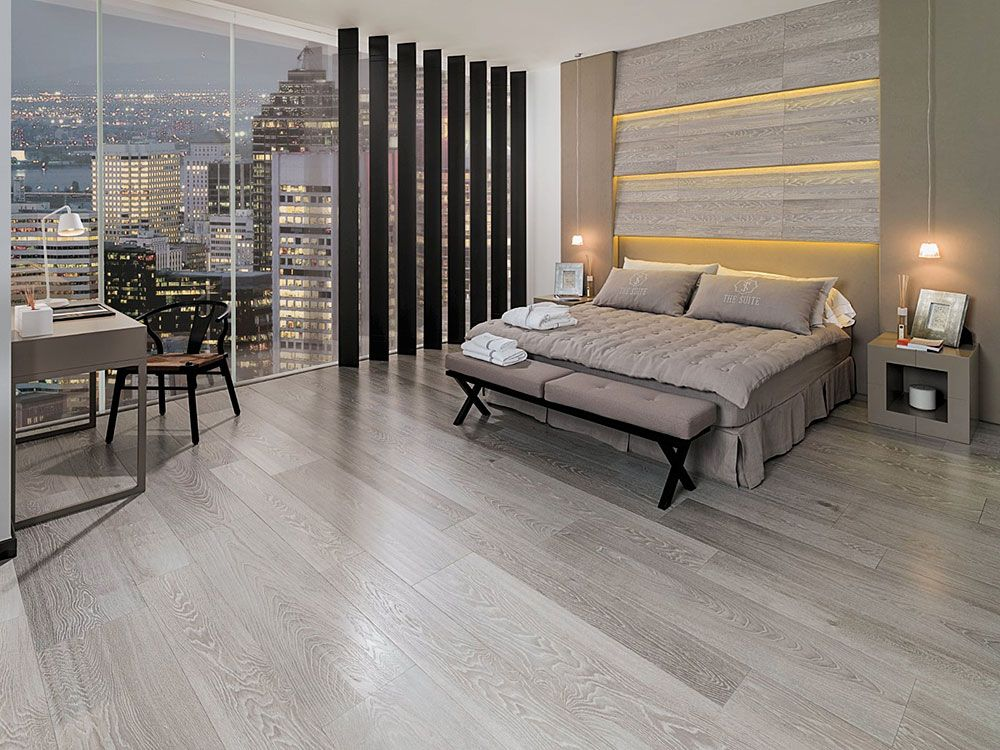 London Grey Floor Tiles Parker Porcelain Wood Look
