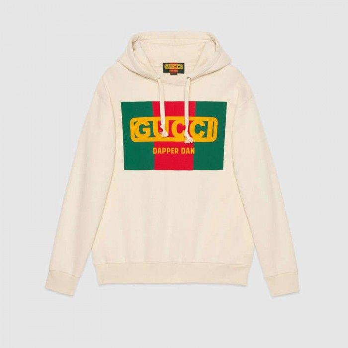 6591e55b237 Oversize Gucci-Dapper Dan sweatshirt 469251 in 2019