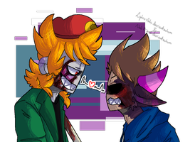 Collab Tommatt By Little Macrophage Tomtord Comic Eddsworld Memes Sketches