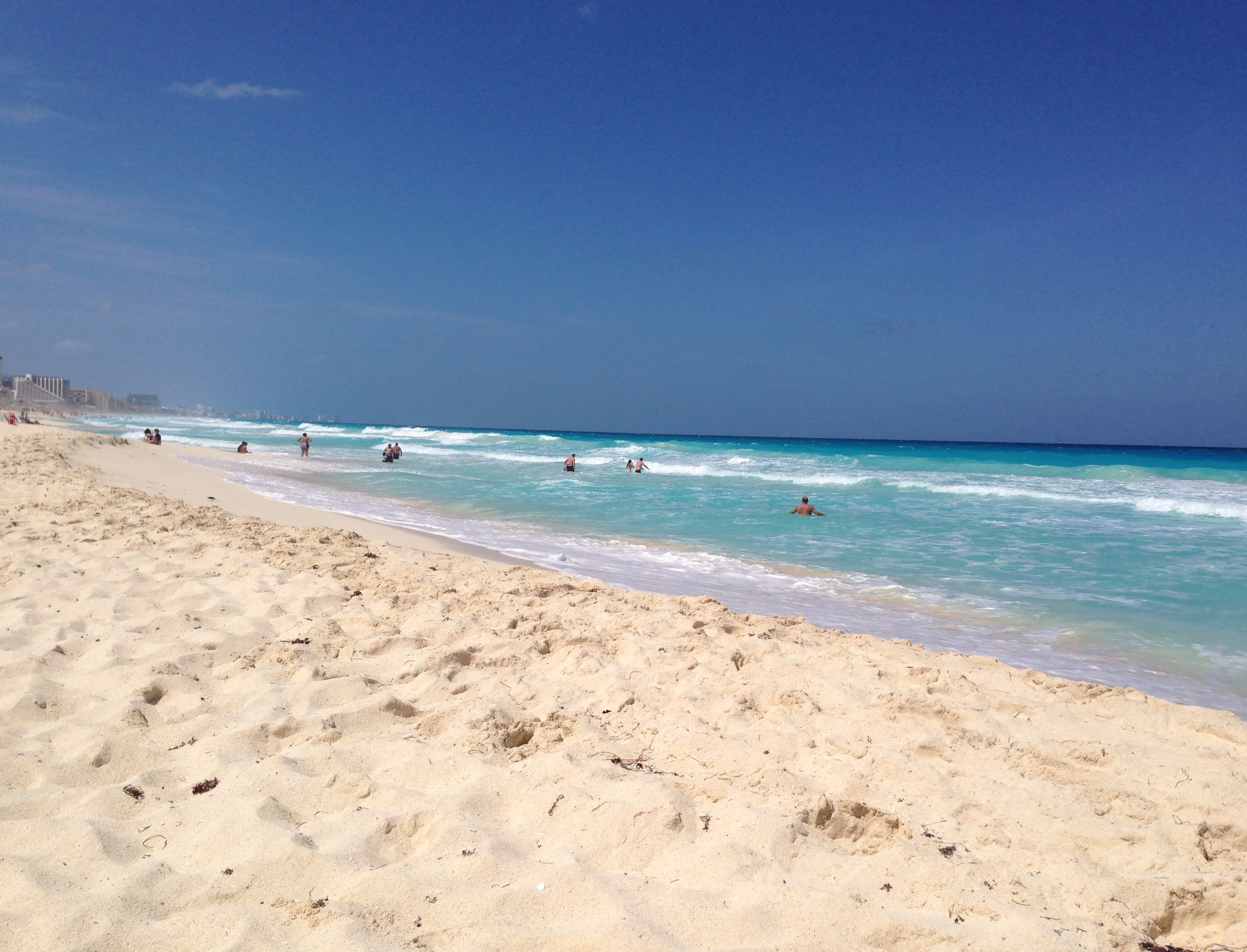 Beautiful Beach At The Royal Solaris CancunMexico