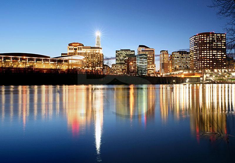 Hartford Hartford Skyline At Dusk 1 Hartford