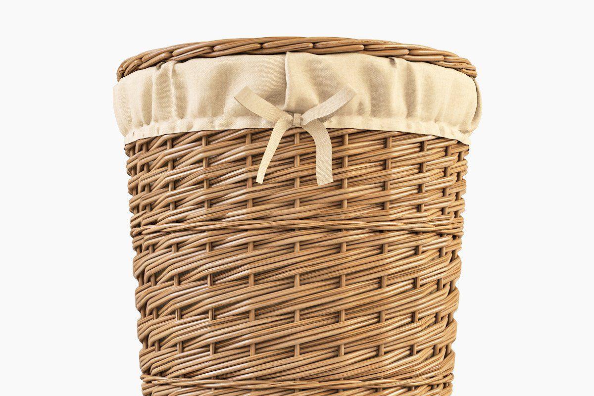 Wicker Laundry Basket 03 Natural Wicker Laundry Basket Wicker