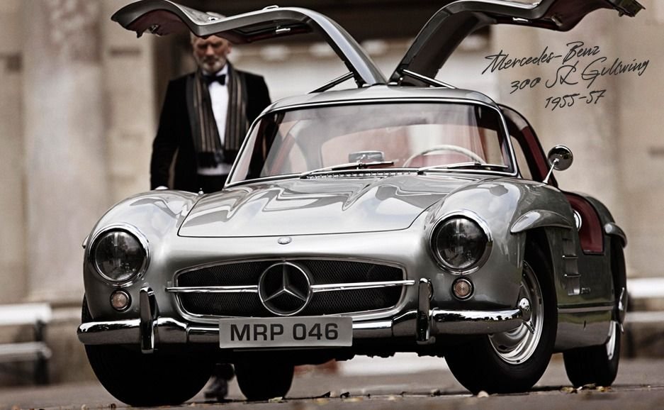 Mercedes-Benz 300 SL Gullwing.