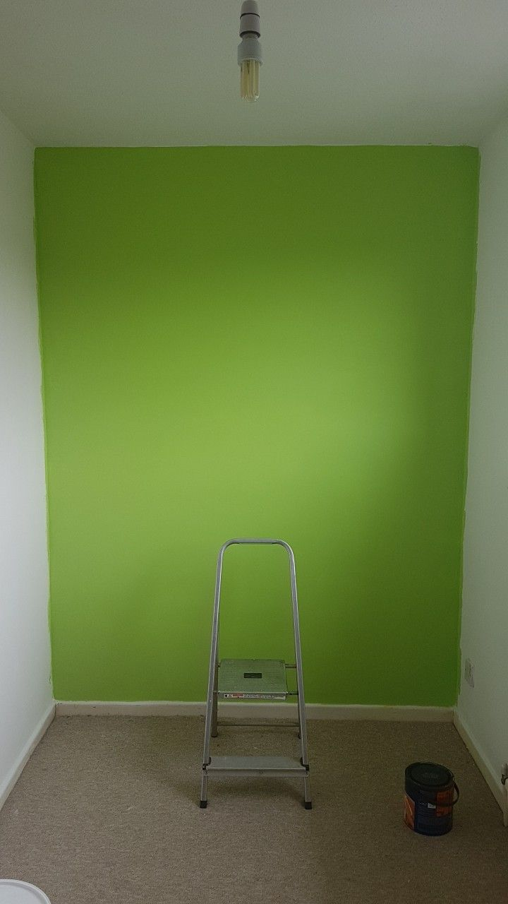 Kiwi Crush Dulux Paint For Oliver S Bedroom Love A Bit Of Bright Green Green Bedroom Walls Green Walls Living Room Bedroom Green