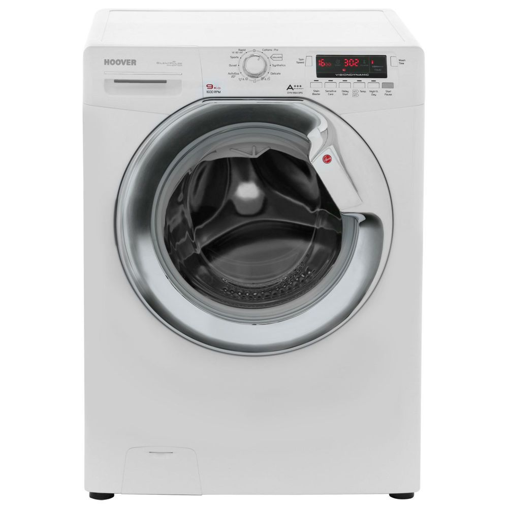Details about Hoover DYN9164DPG Free Standing 9Kg 1600 ...