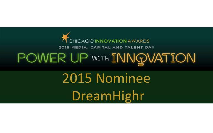 2015 Chicago Innovation Awards #ChiTech2015