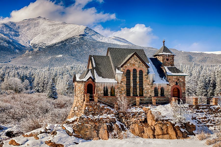 St Catherine of Siena Chapel by Theodore (Ted) Stark (Colorado)