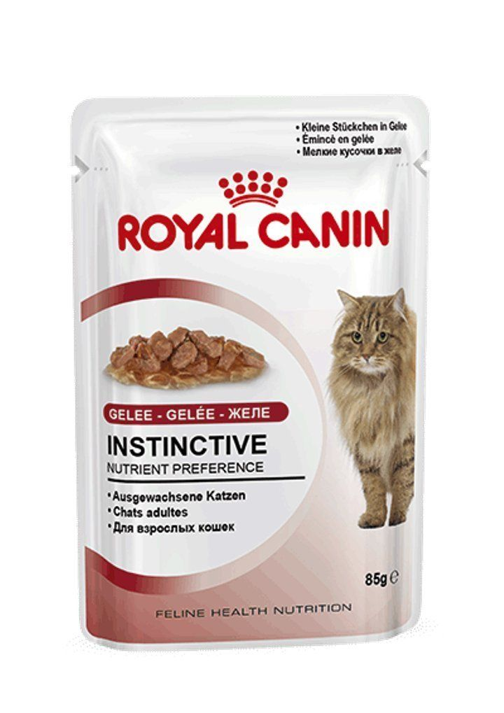 Rc cat fhn instinctive pouch 7 yrs in jelly 85g pack of