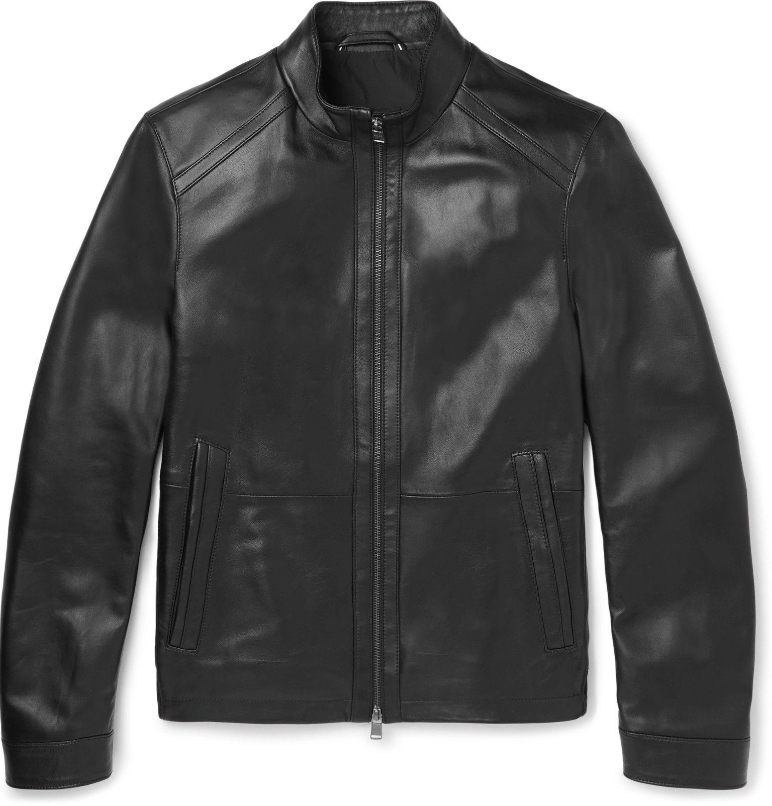 e39980885 Hugo Boss - Nestal Leather Jacket | Evolving my style smartly ...