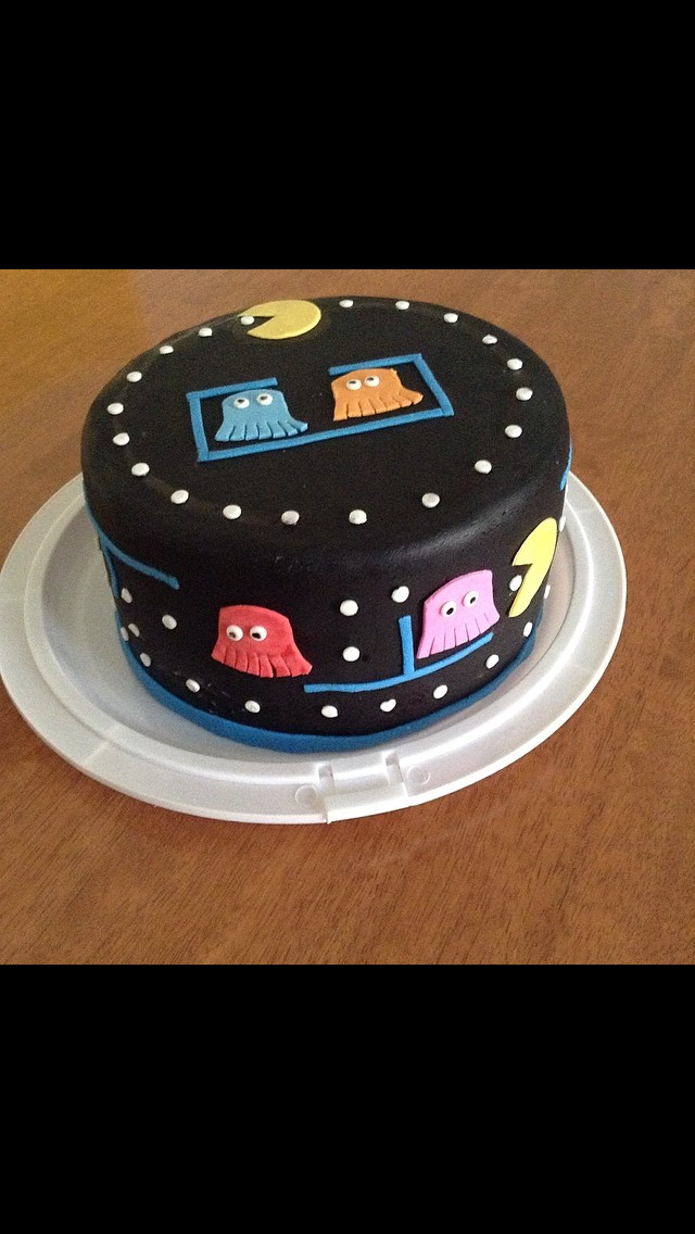My Sweet Treats NJ PacMan Cake Cakes Pinterest Pac man cake