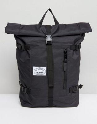 Poler – Klassischer, schwarzer Rucksack mit Umschlag | rucksack ...