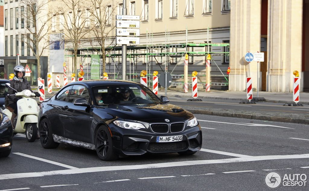 Check Out Bmw S New M2 In Sapphire Black Carscoops Bmw Bmw M2 Black