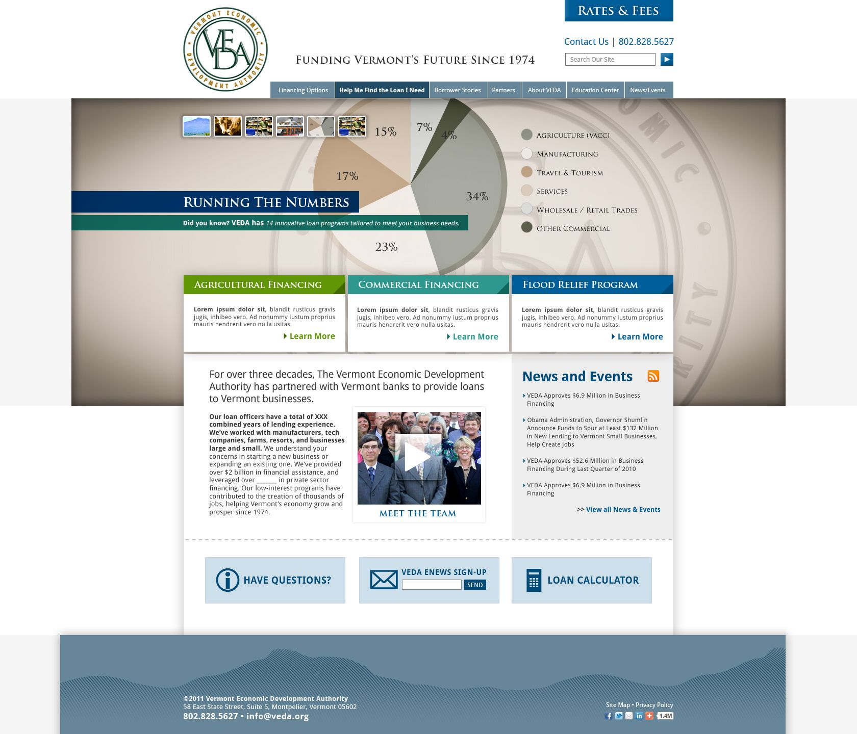 Website design and development veda da work weure