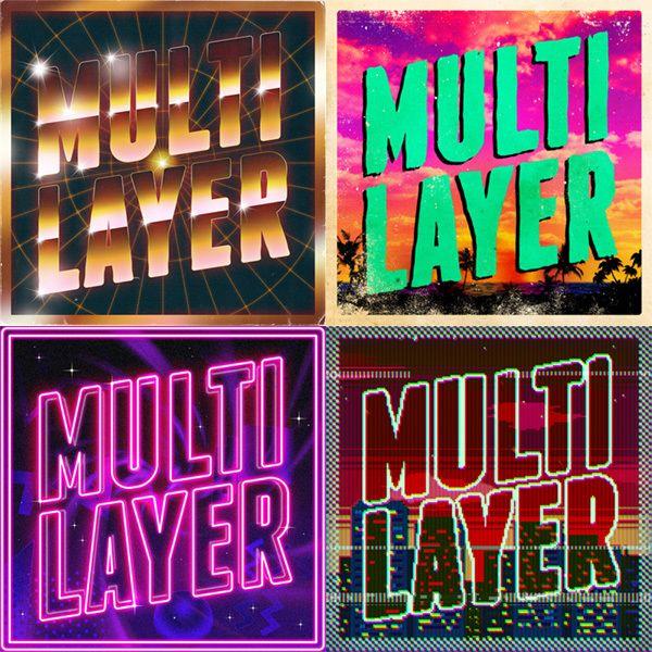 SCUTHEOTAKU Multilayer (Album artwork) on Behance
