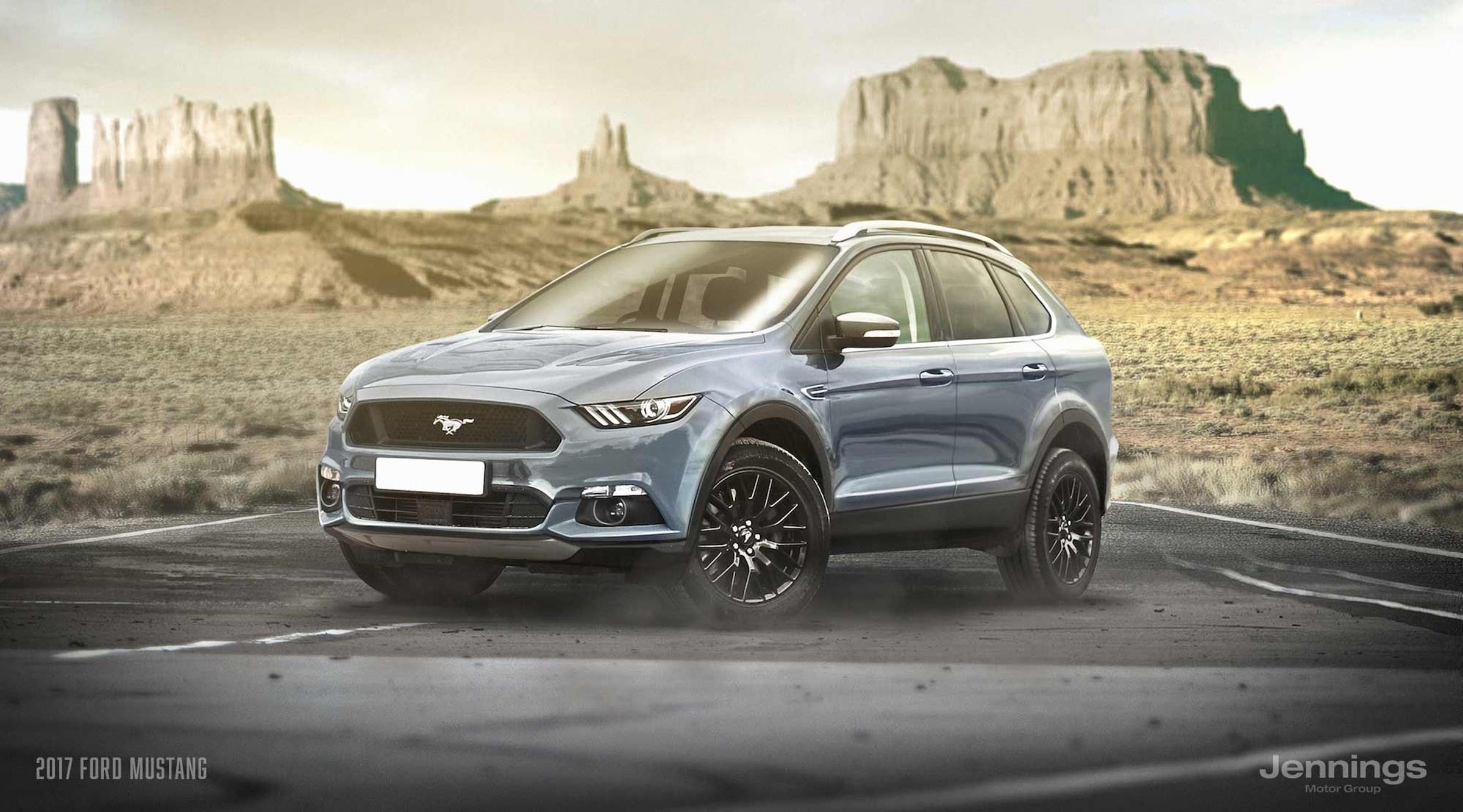 Ford Mustang SUV Concept/Rendering Ford mustang suv