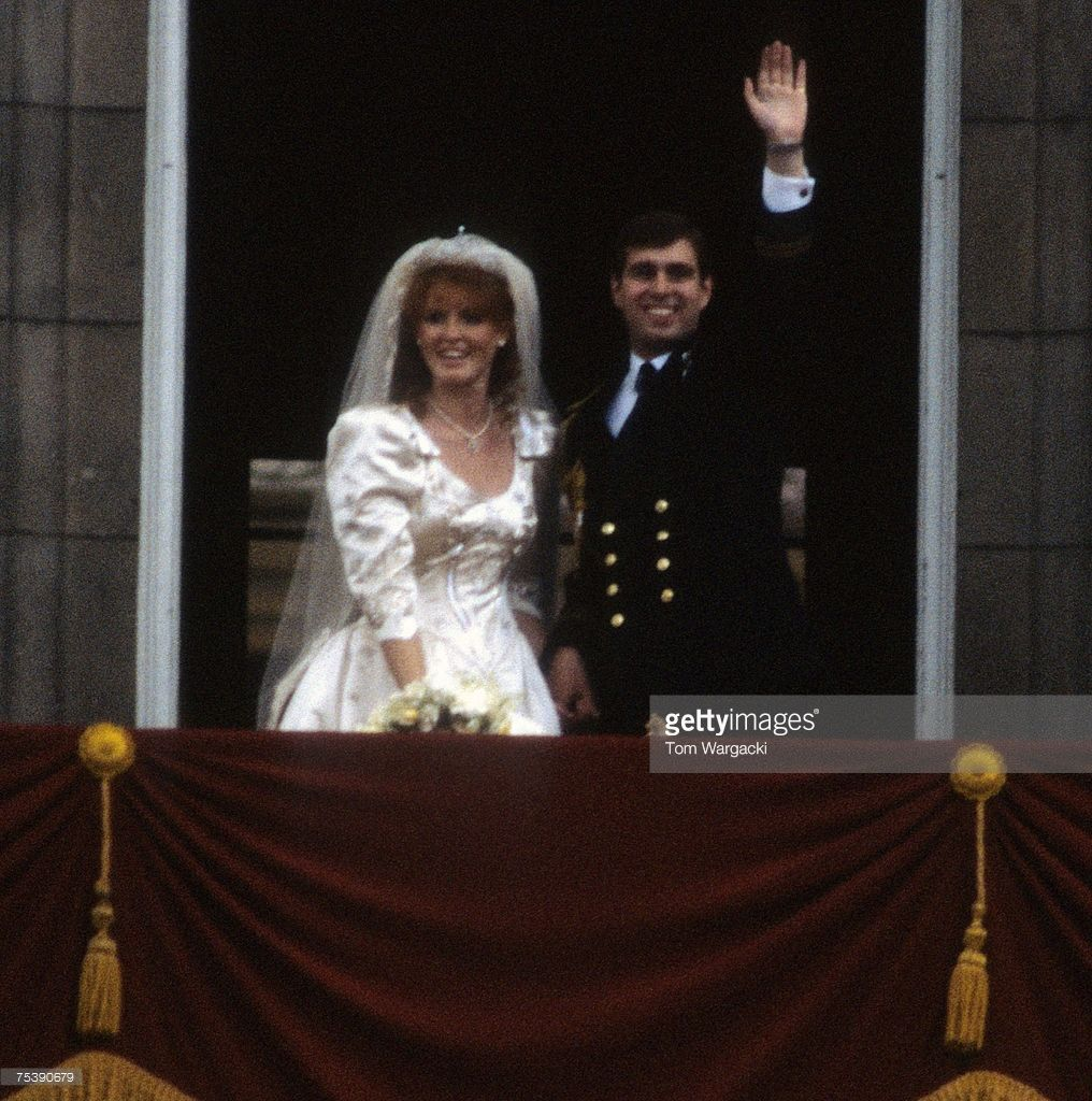 Prince Andrew, Duke Of York And Sarah Ferguson Wedding