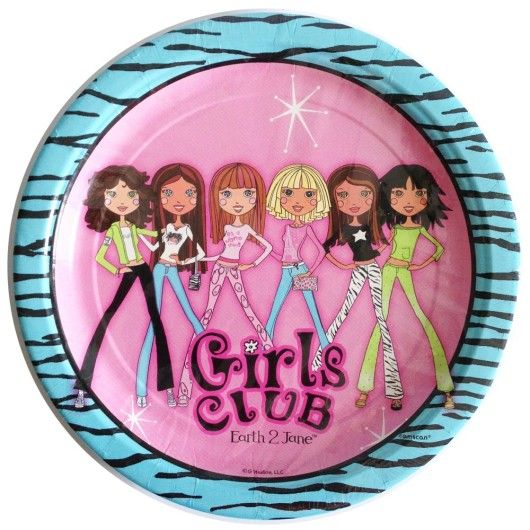 Girls Club Earth to Jane Party!