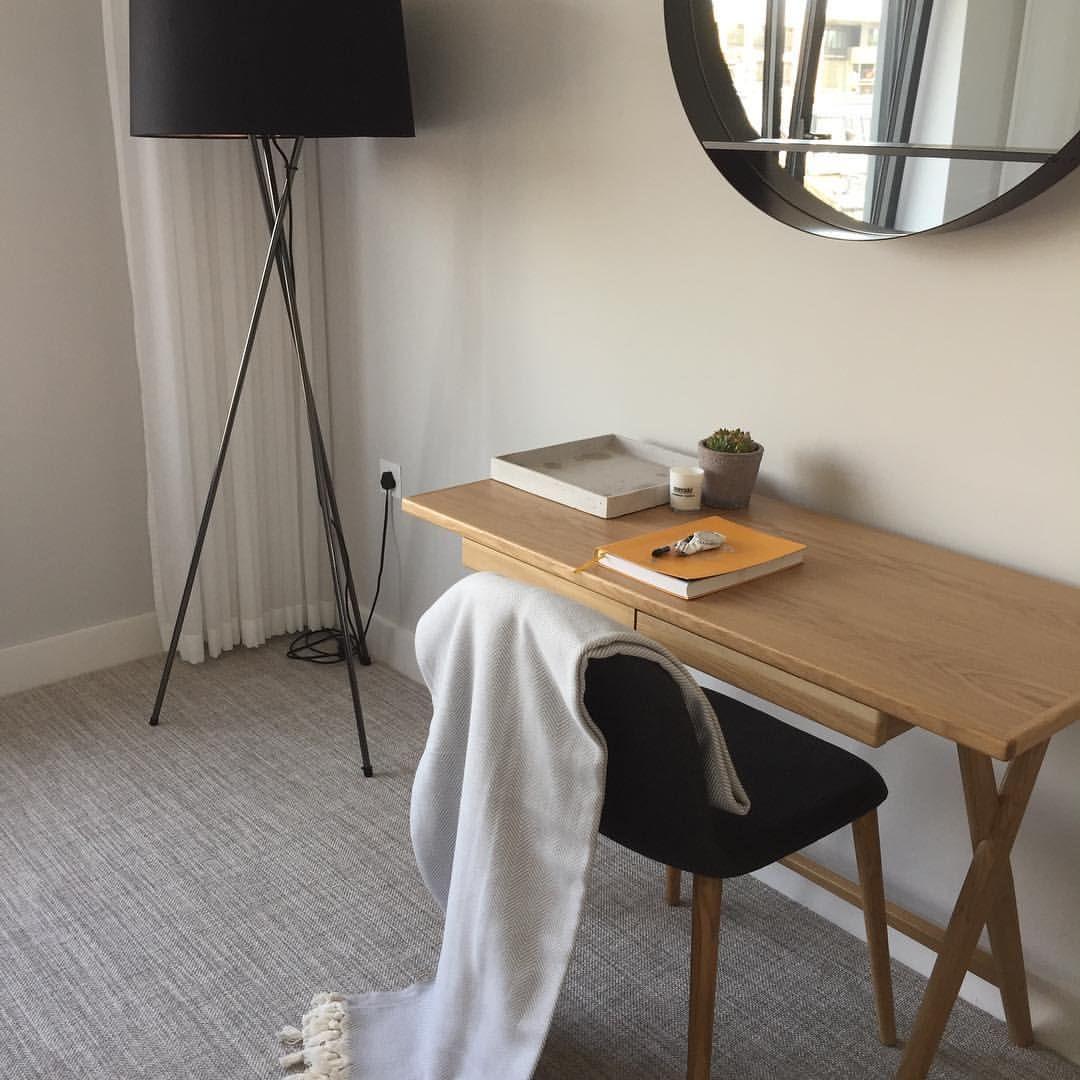 Scandinavian Interiordesign Colors: Desk In The Bedroom (With Images)