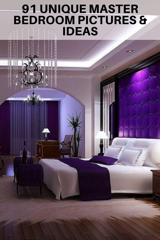 Luxury Master Bedroom Ideas Purple And More 313 Blackfeaturewall Masterbedroomst Master Bedroom Decor Romantic Luxury Bedroom Design Purple Master Bedroom