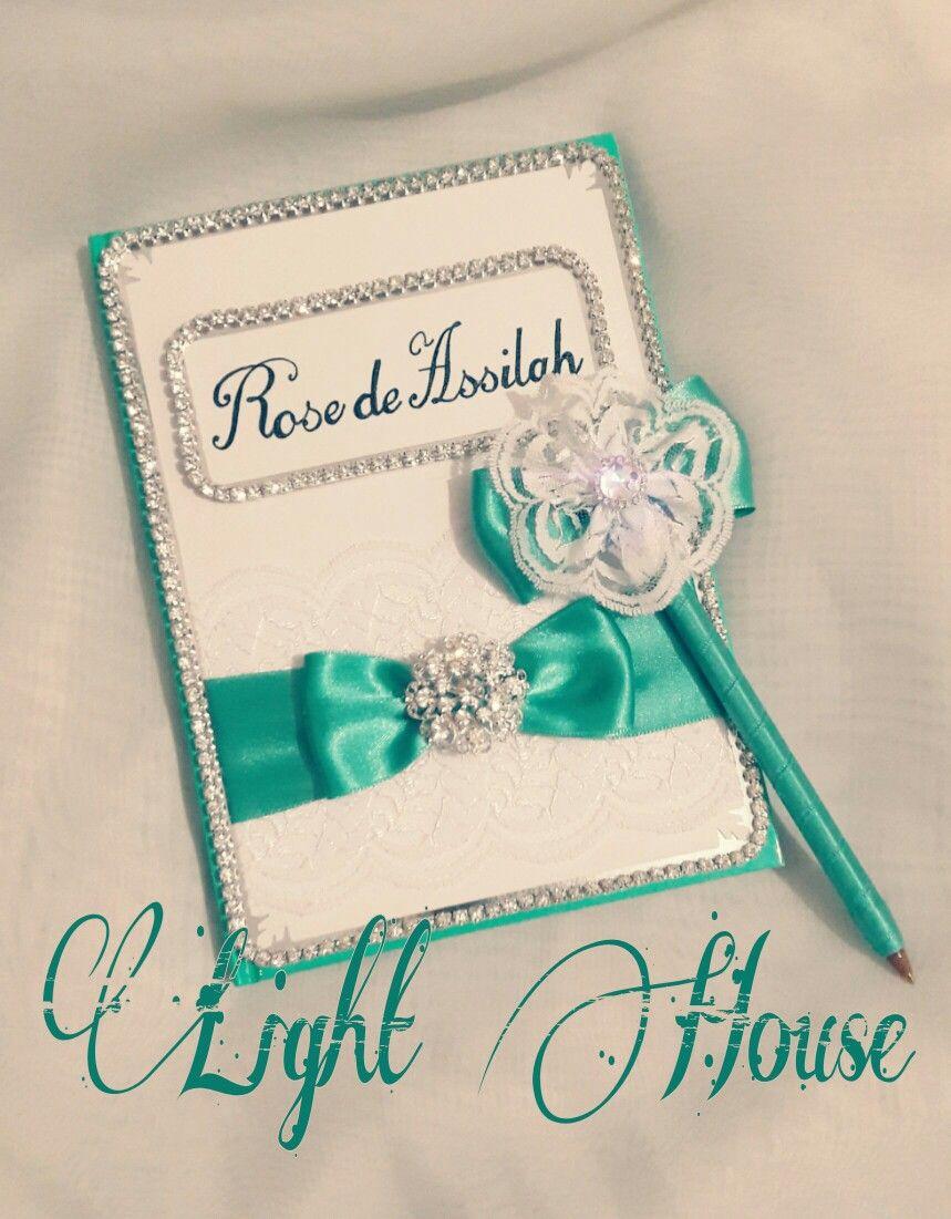 Guestbook,mint guestbook,mint & silver,wedding guestbook,wedding ...