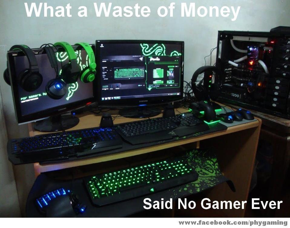 Gaming Rig A K A New Computer Pc Setups Pinterest