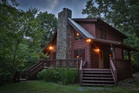 Pet Friendly Rental Cabin In Ellijay Georgia