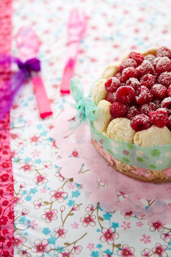Raspberry charlotte ❥