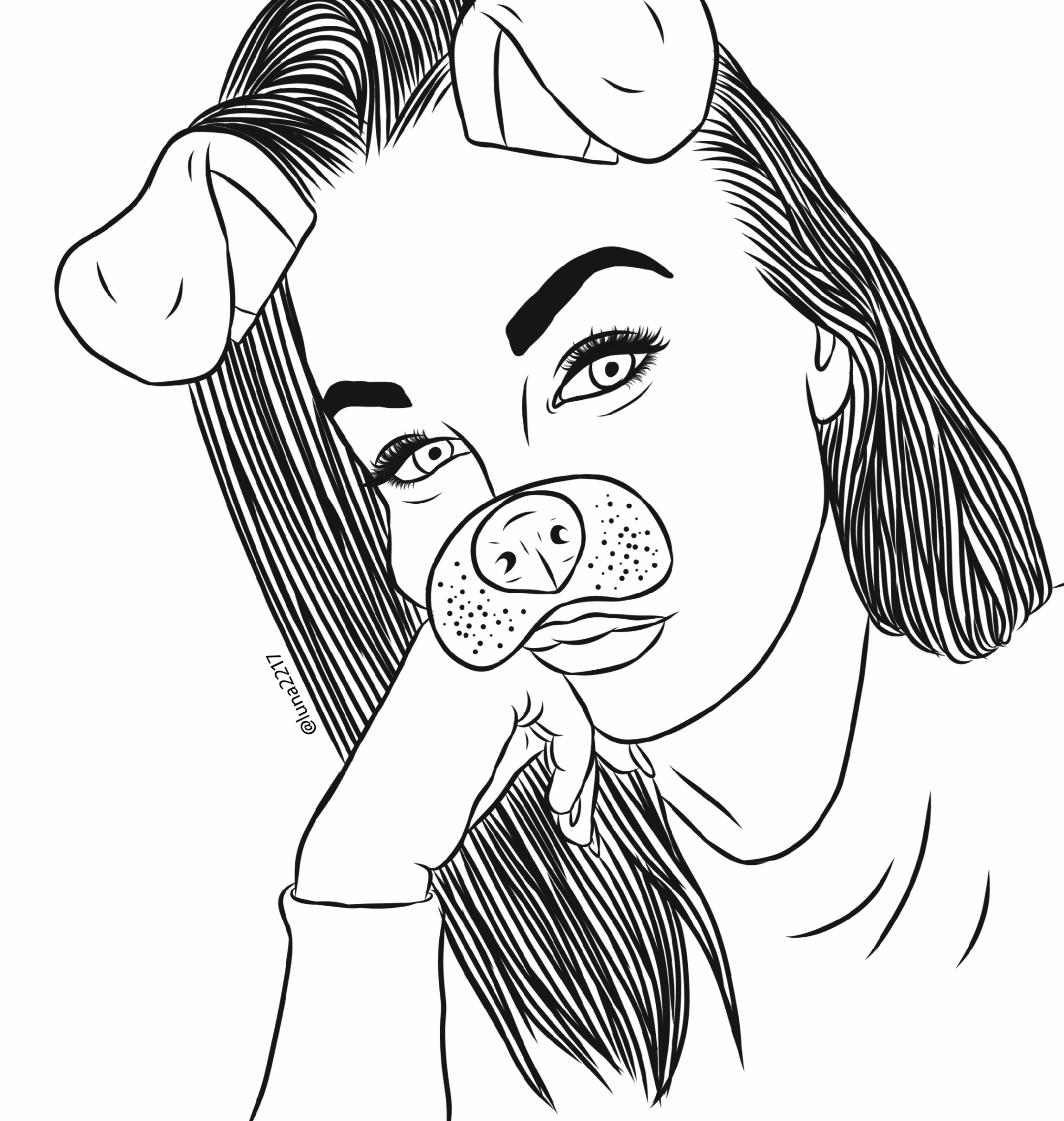 Https Cdn141 Picsart Com 280169698002201 Png In 2020 Outline Drawings Girly Drawings Snapchat Drawing
