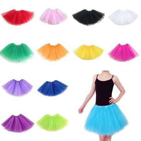 Buy DYMADE Women 3 Layered Tulle Tutu Skirt Pettiskirt Ballet One