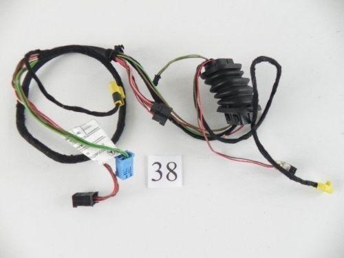 2002 mercedes c320 w211 front right left door wire harness