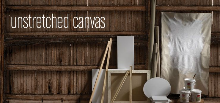 Unstretched Linen Canvas for Portraits  Pre-primed is