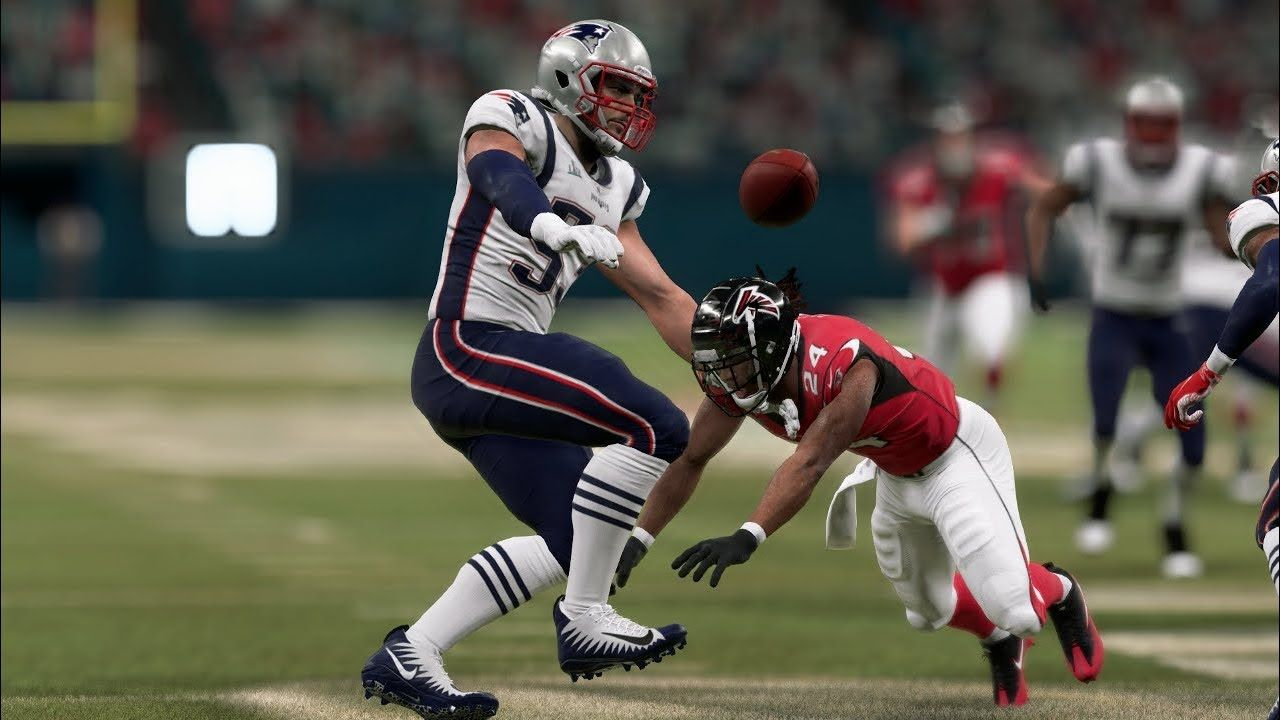 Madden 20 Gameplay New England Patriots Vs Atlanta Falcons Super Bowl Li Rematch Madden Nfl 20 New England Patriots Madden Nfl Super Bowl Li