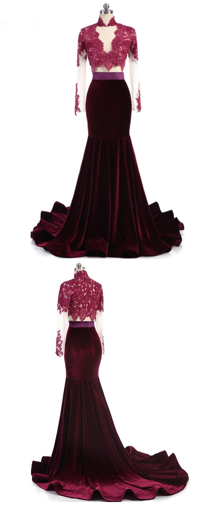 Party prom dress vestido de festa luxury beading highneck appliques