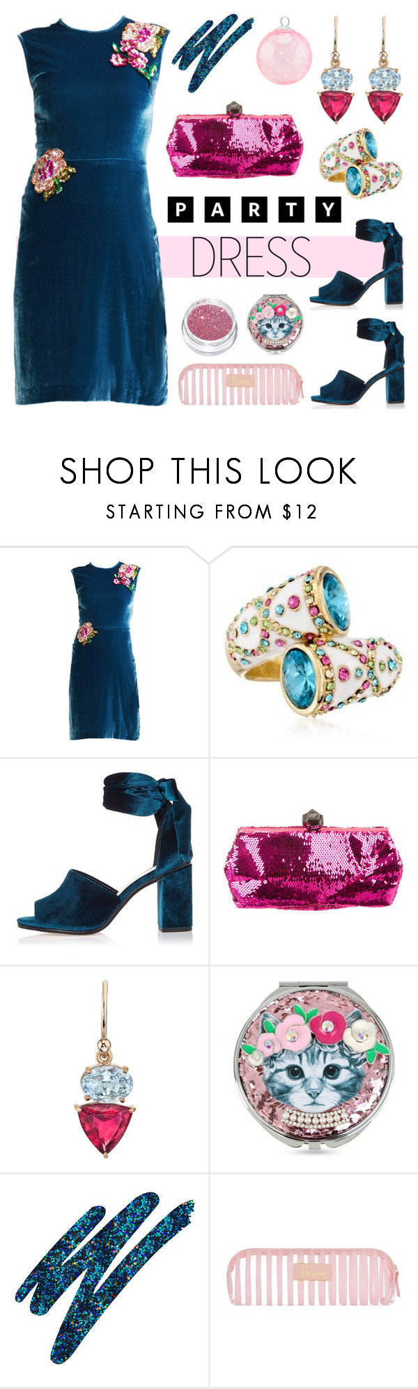 Party Dress | Roger vivier, Cynthia rowley and Harrods